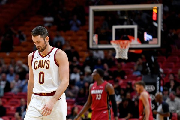 Kevin Love wants out of Cleveland, BAD!