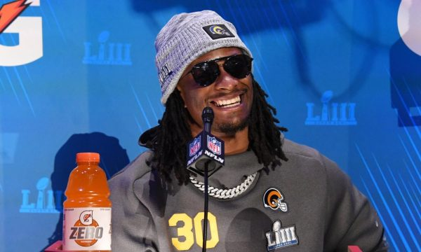Todd Gurley wins the day.