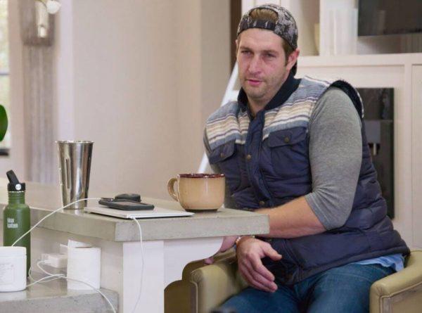 Jay Cutler would like to be alone.