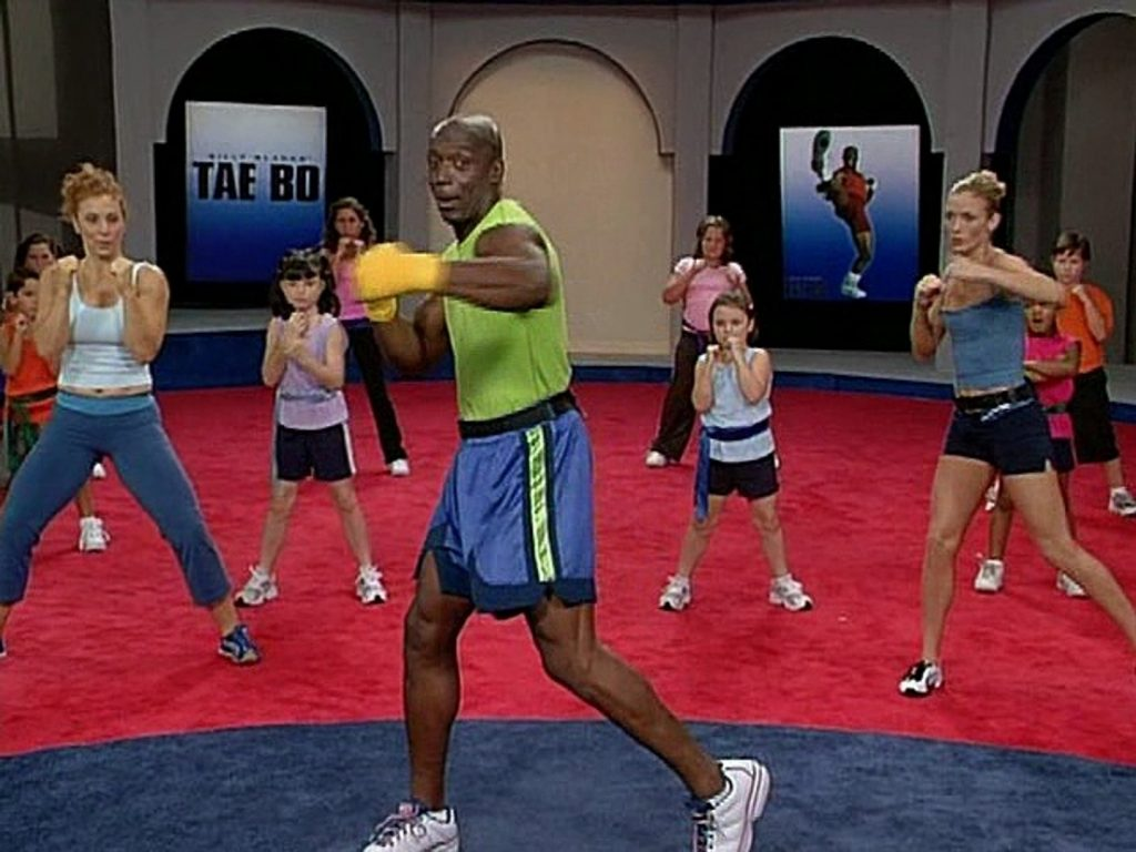 Where is Billy Blanks? The God of Tae Bo.