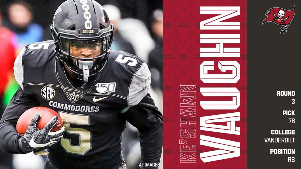 Ke' Shawn Vaughn should be a top 10 pick in Rookies only Dynasty Draft