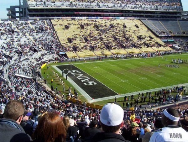 Saints Playing In Tiger Stadium