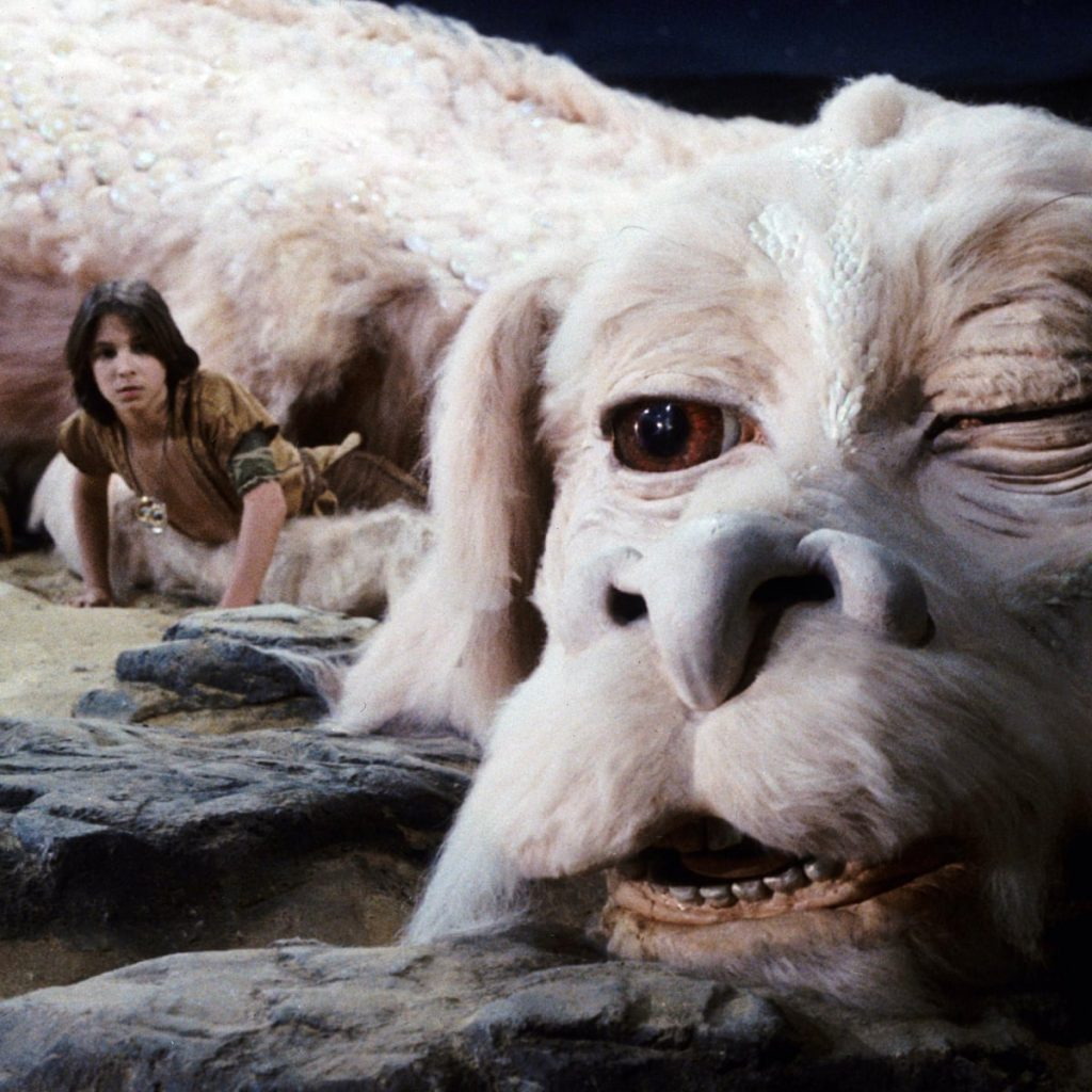 Can we take another look at Falkor The Luck Dragon?
