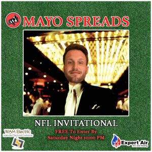 Mayo Spreads NFL Week 11
