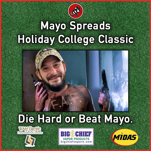 Mayo Spreads College Classic