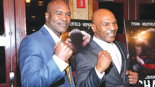 Mike Tyson Says He's Ready To Fight Evander Holyfield