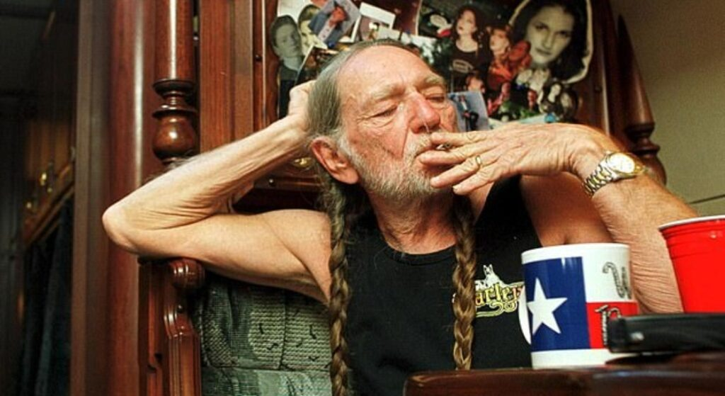 Folks Who Got High AF With Willie Nelson