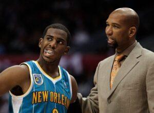 Chris Paul & Monty Williams. NBA Mayo Spreads