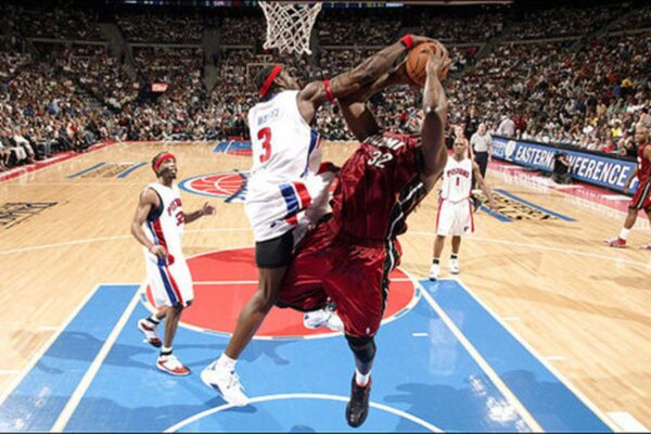 Ben Wallace Inducted Into NBA Hall of Fame.