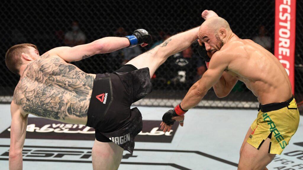 UFC Vegas 32, Mayo Spreads